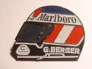 Pin's - Casque Marlboro G.BERGER - Automobile - F1