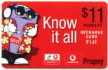 FIJI VODAFONE PREPAY $11 - Figi