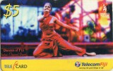 FIJI TELECOM-DANCES OF FIJI INDIAN CLASSICAL DANCE-$5 - Figi