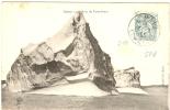 REF LPU10/2 - TYPE BLANC 5c OBLITERATION TEMPORAIRE ST. MALO KERMESSE 3/9/1905 SUR CPA NON VOYAGEE - 1900-29 Blanc