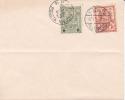 WARSZAWA - WARSCHAU - VARSOVIE - Enveloppe Souvenir - Michel N° 2 & 8 - 22 Février 1916 - ....-1919 Provisional Government