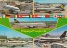 MULTI VIEW OF FRANKFURT AIRPORT INC VARIOUS AIRCRAFT (A22765) - Aerodrome