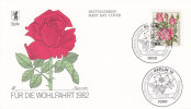 BERLIN:  N°641/644 Sur 4 Enveloppes FDC De 1982 !!!