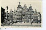 CPA -Belgique .ANVERS.-Le Brado Et Maisons Grand'place.-- .Antwerpen- Huizen Der Groote Markt En Brado..-Aou Sa 2011 359 - Non Classés