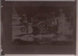 RARE - GRAND  NEGATIF DE CARTE L.L.B. 13 ** LAEKEN - FONTAINE SAINTE ANNE ** ! - Laeken
