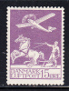 Denmark MH Scott #C2 15o Airplane And Plowman - Poste Aérienne