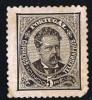 Luiz I  De Face Réimprssion   5 Reis  Perf 12 ½ * MH - 1862-1884 : D.Luiz I