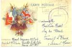REF LPU10 / 1 - CARTE POSTALE EN FM 26/12/1939 CACHET DE VAGUEMESTRE - Postmark Collection (Covers)
