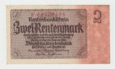 Germany 2 Rentenmark 1937 XF+ CRISP P 174b 174 B - Unclassified