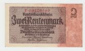 Germany 2 Rentenmark 1937 XF+ CRISP P 174b 174 B - 1933-1945: Drittes Reich