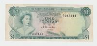 Bahamas 1 Dollar 1974 VF++ Crisp Banknote P 35a 35 A - Bahamas