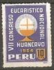 Peru, Viñeta Huancayo 1954 - Pérou