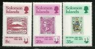 "Solomon Islands     ""Stamps On Stamps""     Set      SC# 389-92      MNH** - Solomon Islands (1978-...)"