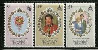"Solomon Islands     ""Royal Wedding""     Set      SC# 450-52      MNH** - Royalties, Royals"