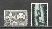 Belgique - 1957 - COB 1022 & 1024 - Oblit. - Belgium