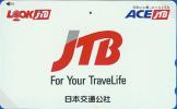 Télécarte Japon / 110-016 - JTB -  Japan Phonecard Telefonkarte - 310 - Werbung