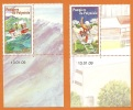 POLYNESIE FRANCAISE Série Complète 863/864 YT ** BDF CD, Pompiers 2009 - Frans-Polynesië