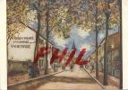 """Maurice Utrillo - """"Vue D´Anse"""" (Rhône), Musée National D´Art Moderne à Paris, Ref 1108-1331 - Paintings"""