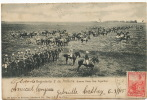 Regimiento 2 De Artilleria Bs As 384 R. Rosauer 2 Sellos Augy Yonne Sur Timbre Argentin - Argentina