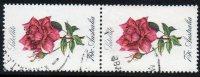 Australia 1982 Roses - 75c Satellite Used Vertical Pair - SG 846 - Actual Stamps - Used Stamps