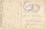 3764. Postal Feldpost (Alemania) 1916  Landwehr Division.  Artilleria - Cartas