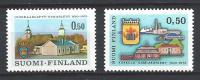 Finlande 1970 N°643/644 Villes De Uusikaarlepyy Et Kokkola - Ungebraucht