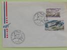 OBLITERATION TEMPORAIRE SPIRIT OF ST LOUIS/CONCORDE 12/06/1977 LE BOURGET - Vliegtuigen