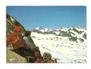 Cp, Alpinisme, Barèges (65), Lac De La Glère Au Dégel Et Vignemale Au Loin à Gauche, Voyagée 1982 - Alpinisme