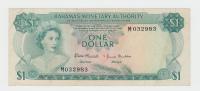 Bahamas 1 Dollar Banknote 1968 VF+ P 27 - Bahamas