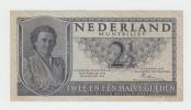 Netherlands 2 1/2 Gulden 1945 AXF P 73