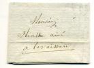 Lettre 30 Décembre 1822 - Marcophilie (Lettres)