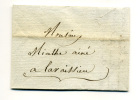 Lettre 19 Octobre 1823 - Postmark Collection (Covers)