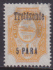 RUSSIA  - TURKISH EMPIRE - TREBIZONDE - 1909 - Unused - Hinged - Turkish Empire