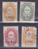 RUSSIA - TURKEY - TURKISH EMPIRE- Small Group Of Stamps From 1907-1909 - Used & Unused - Hinged - Turkish Empire