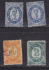 RUSSIA - Small Group Of Russian Stamps From 1884 - Used - Hinged - Used Stamps