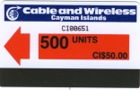 CAYMAN Islands____first Set Premier Series____Autelca 500u____mint____RRR - Iles Cayman