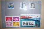 Page Cartonnée De 9 Timbres Oblitérés  24/03/2010 - Suède