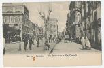 CATANIA - VIA STESICOREA E VIA CARONDA C. 1905 - EDIT.GIUS CHIAVARRO - Catania