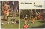 Bienvenue à TAHITI Pinholes C. 1975 - Tahiti