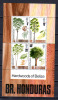 Honduras 1971, Arbres, Gibbons 319, 3,50£ X 4 - British Honduras (...-1970)