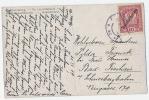 """AK Mit """"Deutschösterreich"""" Überdruck 1919 - 1918-1945 1. Republik"""