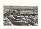 Cp, 75, Paris, La Seine Et La Tour Eiffel, Vue Aérienne, écrite - Tour Eiffel