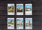 1986  STATIONS THERMALES ET HOTELS D ACCUEIL  YV= 3664/3669 - 1948-.... Républiques