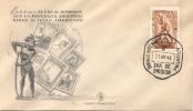 DIA AMERICANO DEL INDIO FDC REPUBLICA ARGENTINA MAYO DE 1948 SOBRE RARE PRIMERA PRESIDENCIA DEL GENERAL JUAN PERON - Indianen
