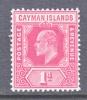 Cayman Islands 22    **  Wmk 3 - Cayman Islands