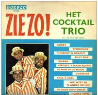 * LP *  HET COCKTAIL TRIO - ZIEZO ! - Humor, Cabaret