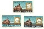 1961 - San Marino 565/67 Mostra Sul Risorgimento - Non Classificati