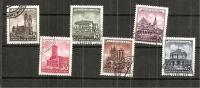 GermanDemocraticRepublic1   955:Michel  491-6used Historical Buildings - [6] Democratic Republic
