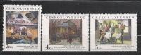 1989 - N. 3025/27** (CATALOGO UNIFICATO) - Tchécoslovaquie
