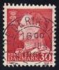 Denmark #385 King Frederik IX (non-fluor), Used (0.20) - Denmark